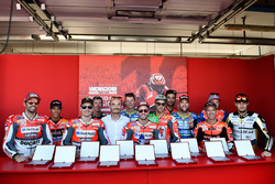 Ducati riders line-up
