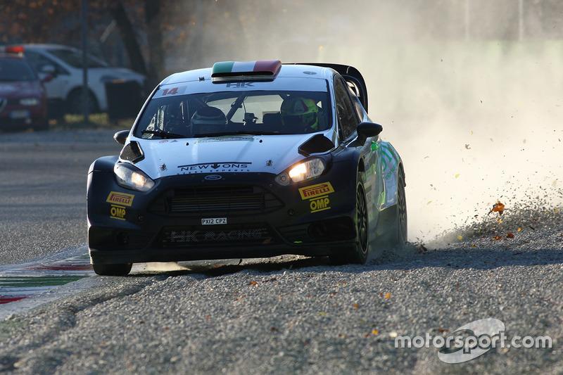 Стефано д'Асте, Линда д'Асте, Ford Fiesta WRC