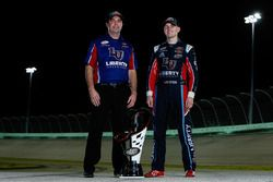 Campeón 2017 William Byron, JR Motorsports Chevrolet, jefe de equipo David Elenz