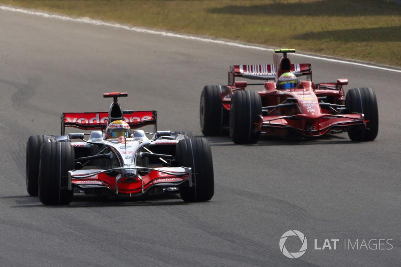 2008: Lewis Hamilton, McLaren MP4-23 Mercedes
