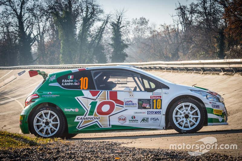 Coche de Paolo Andreucci, Anna Andreussi, Peugeot 208 T16