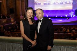 Jean Todt and Michelle Yeah
