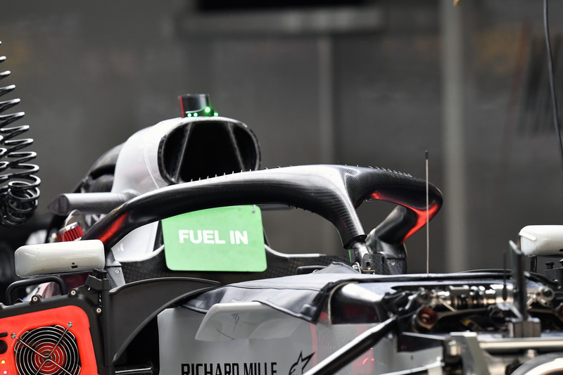 Haas F1 Team VF-18 halo
