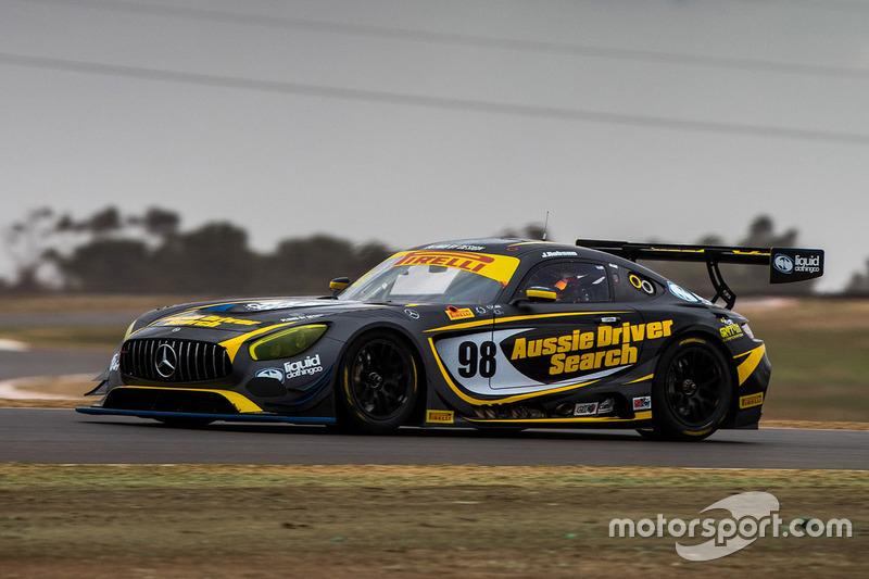 #98 Aussie Driver Search Mercedes-AMG GT3: Jaie Robson, David Reynolds