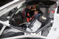 Una dei piloti della Guest Car