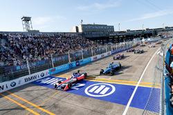 Felix Rosenqvist, Mahindra Racing, Sébastien Buemi, Renault e.Dams, Alex Lynn, DS Virgin Racing