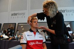 Marcus Ericsson, Sauber in make up