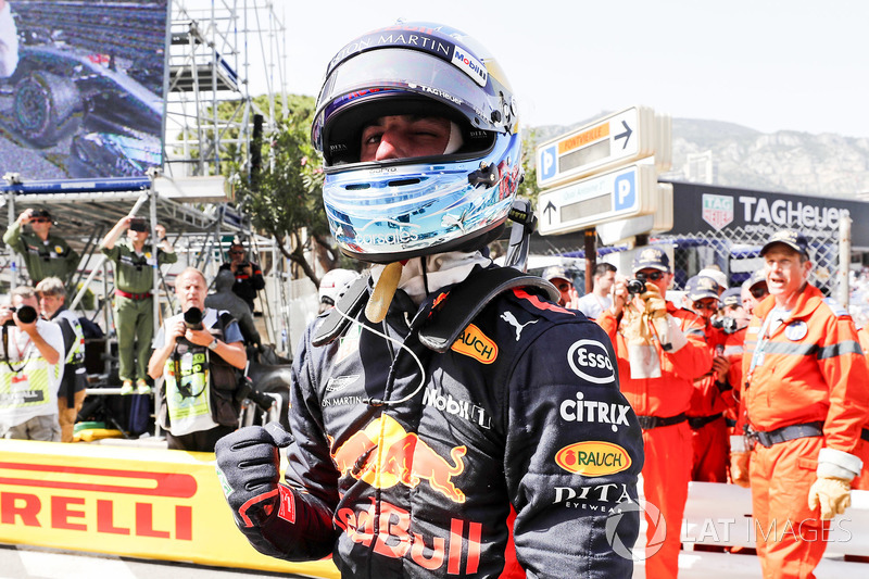 6. GP Monako - Pole: Daniel Ricciardo