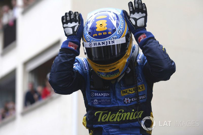 Fernando Alonso - Two titles (2005, 2006)