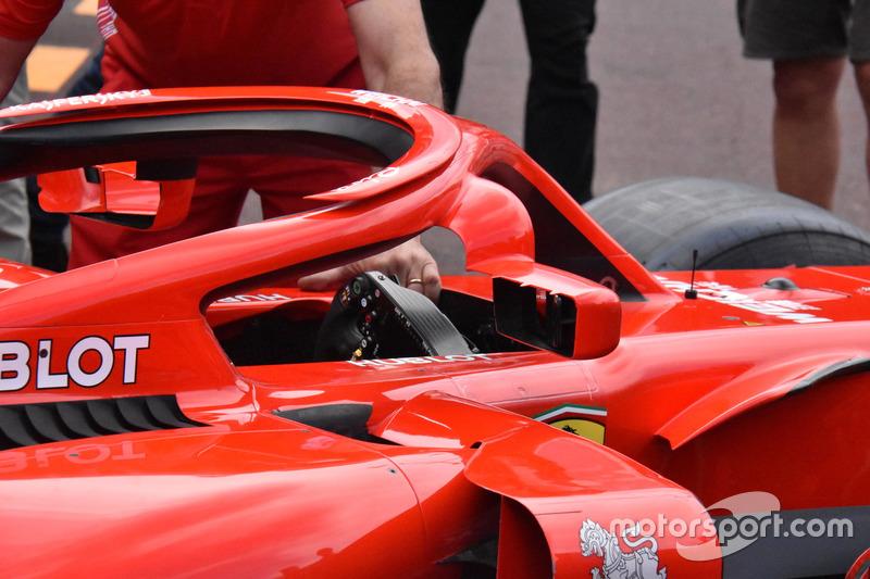 Ferrari SF71H halo