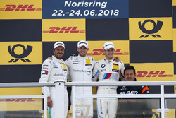 Podium: Race winner Edoardo Mortara, Mercedes-AMG Team HWA, second place Gary Paffett, Mercedes-AMG Team HWA, third place Marco Wittmann, BMW Team RMG