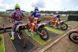 Tony Cairoli, Red Bull KTM Factory Racing, Jeffrey Herlings, Red Bull KTM Factory Racing, Glenn Coldenhoff, Red Bull KTM Factory Racing
