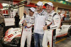 I polesitter LMP1 #1 Porsche Team Porsche 919 Hybrid: Neel Jani, Andre Lotterer, Nick Tandy