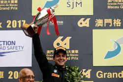 Podium: second place Augusto Farfus, BMW Team Schnitzer, BMW M6 GT3