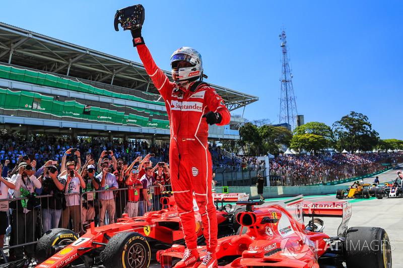 19º GP de Brasil 2017 - Victoria Sebastian Vettel, Ferrari