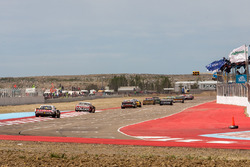 Juan Marcos Angelini, UR Racing Dodge, Juan Manuel Silva, Catalan Magni Motorsport Ford, Martin Serr