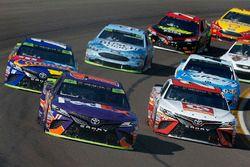 Denny Hamlin, Joe Gibbs Racing Toyota Matt Kenseth, Joe Gibbs Racing Toyota, Kyle Busch, Joe Gibbs R