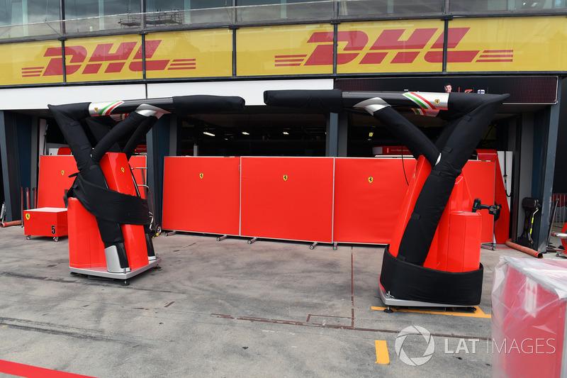 Ferrari garaj hazırlıkları
