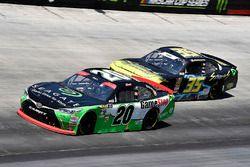 Christopher Bell, Joe Gibbs Racing, Toyota Camry GameStop Seagate and Joey Gase, SS Green Light Racing, Chevrolet Camaro Sparks