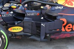 Red Bull Racing RB14 detail van de spiegel