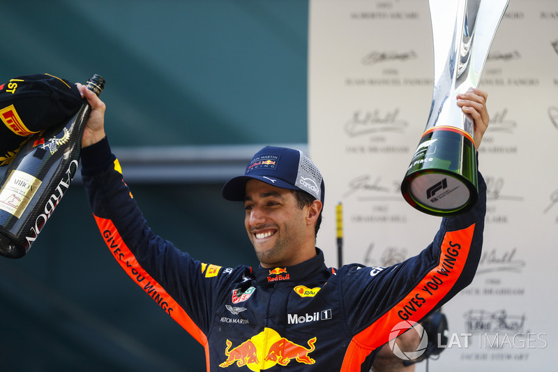 Victoria en China 2018 de Daniel Ricciardo, Red Bull Racing