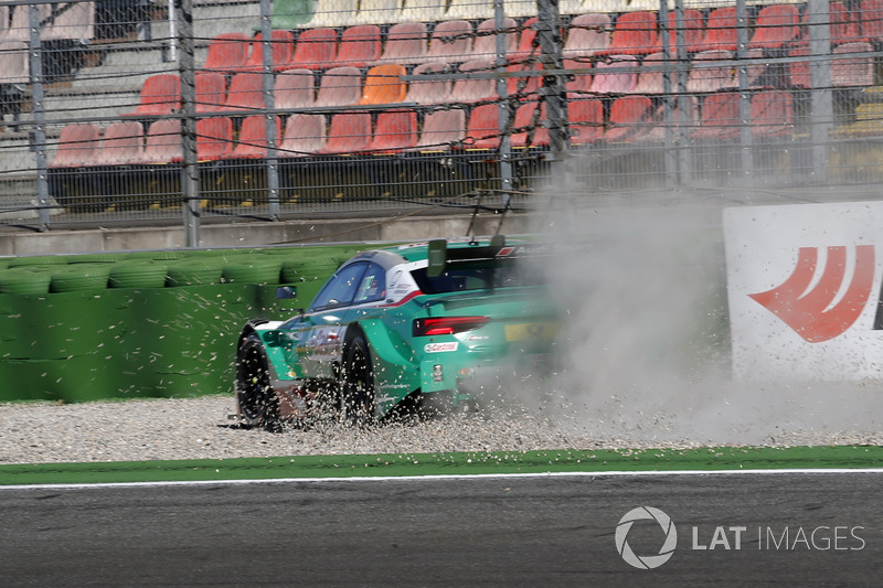 Crash, Nico Müller, Audi Sport Team Abt Sportsline, Audi RS 5 DTM