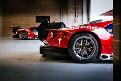 Ford Chip Ganassi Racing Ford GT in the garage