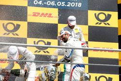 Podium: Timo Glock, BMW Team RMG
