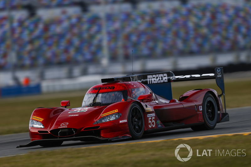 13. #55 Mazda Team Joest Mazda: Harry Tincknell (DPi)