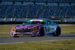 #71 P1 Motorsports Mercedes AMG GT3: Kenton Koch, Robert Foley III, Juan Perez, Loris Spinelli
