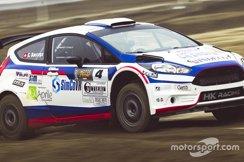 Stefano Baccega, Ford Fiesta WRC