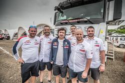Peugeot Sport service crew
