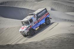 Маурик ван ден Хёвел, Вилко ван Орт и Мартейн ван Роэй, DakarSpeed, Scania Torpedo T4.2 Rallytruck (