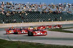 Clay Regazzoni, Ferrari 312PB, führt
