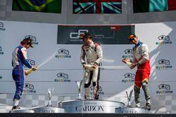 Podium: second place Pedro Piquet, Trident, winner Jake Hughes, ART Grand Prix, third place Leonardo Pulcini, Campos Racing