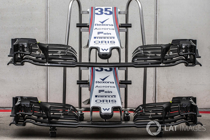 Williams FW41 front wings