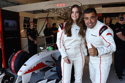 F1 Experiences 2-Seater passenger Barbara Palvin Model with Zsolt Baumgartner, F1 Experiences 2-Seater driver