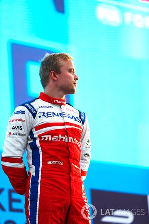 Felix Rosenqvist, Mahindra Racing, podyumda