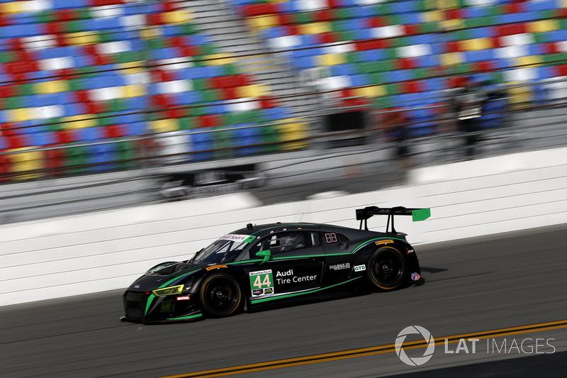 6. GTD: #44 Magnus Racing, Audi R8 LMS GT3
