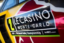 Rally Monte Carlo logo on the Ford Fiesta WRC, M-Sport