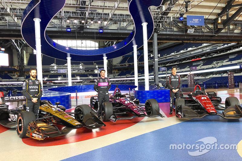 James Hinchcliffe, Jack Harvey, Robert Wickens, Schmidt Peterson Motorsports