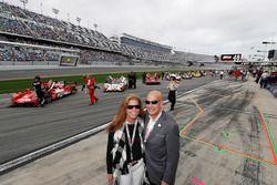IMSA President and COO Scott Atherton with wife Nancy