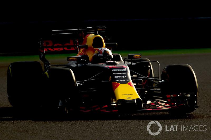 2017 - Test en Formule 1