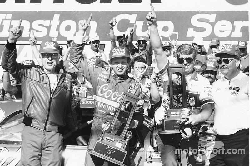 1987: Bill Elliott (Melling-Ford) mit 42,783 Sekunden