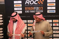 Prince Khaled Al Faisal, President of the Motor Federation Of Saudi Arabia, Prince Abdulaziz Al Faisal, Vice Chairman of the General Sports Authority of Saudi Arabia
