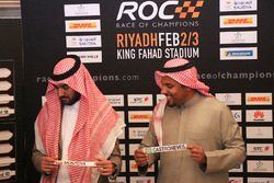 Prince Khaled Al Faisal, President of the Motor Federation Of Saudi Arabia, Prince Abdulaziz Al Faisal, Vice Chairman of the General Sports Authority of Saudi Arabia