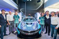 Antonio Felix da Costa, equipo Andretti Formula E, Tom Blomqvist, equipo Andretti Formula E en el la