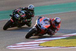 Andrea Dovizioso, Ducati Team, Johann Zarco, Monster Yamaha Tech 3