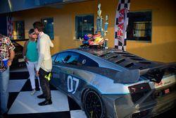 #07 MP1A Lamborghini Gallardo GT3, Sergio Lagana, Bruno Junqueira, Nik Matarangas, William Freire, Auto + Racing