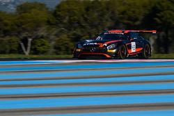#43 Strakka Racing, Mercedes-AMG GT3: Maximilian Buhk, Maximilian Götz, Chris Buncombe, Rick Parfi